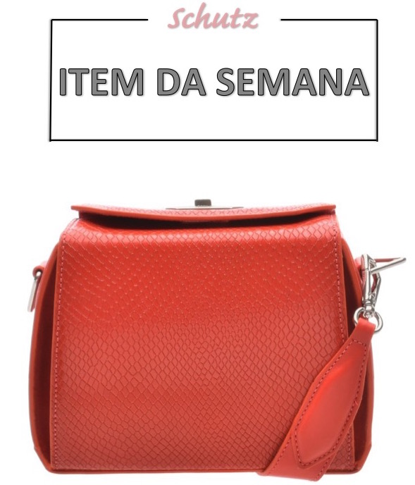 item da semana, item of the week, moda, estilo, tendência, bolsa laranja, ponto de cor, fashion, style, inspiration, pop of color, crossbody