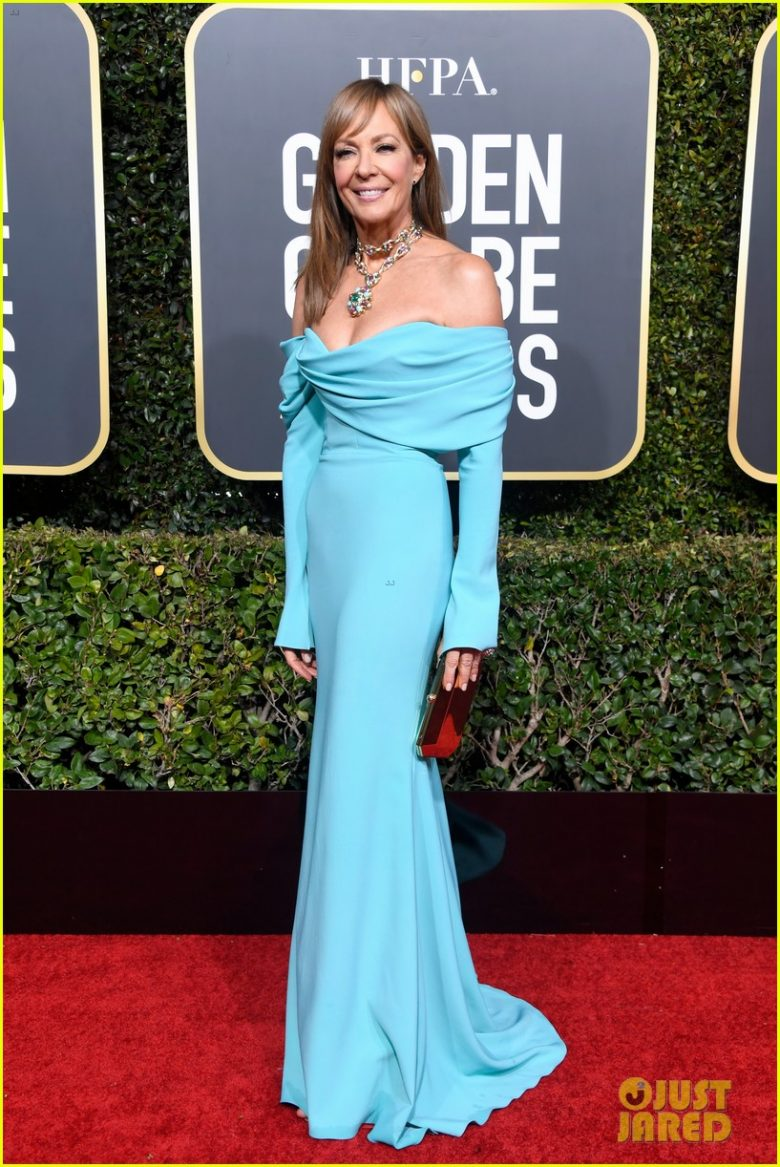 golden globes 2019, golden globes, awards season, red carpet, fashion, look, gown, tapete vermelho, premiação, moda, look, vestido longo, hollywood, allison janney