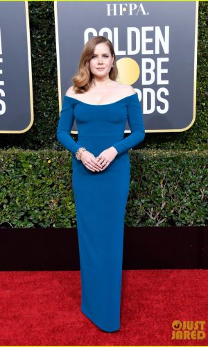 golden globes 2019, golden globes, awards season, red carpet, fashion, look, gown, tapete vermelho, premiação, moda, look, vestido longo, hollywood, amy adams