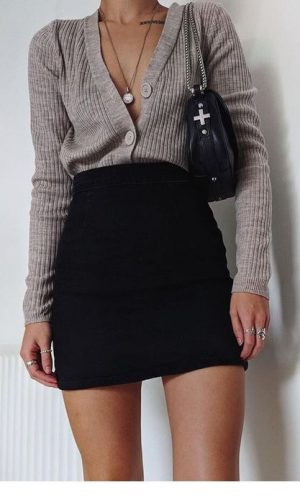 cardigan como blusa, moda, estilo, truque de styling, styling trick, cardigan as a top, fashion